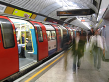 London Underground image